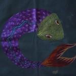 dye-paint fish