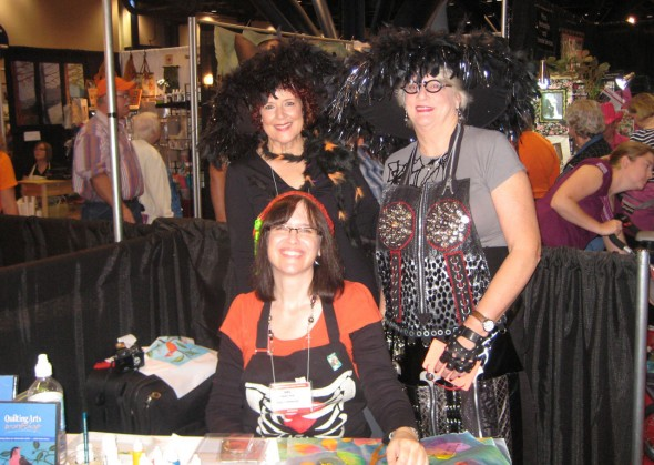 More quilt show fun: Halloween