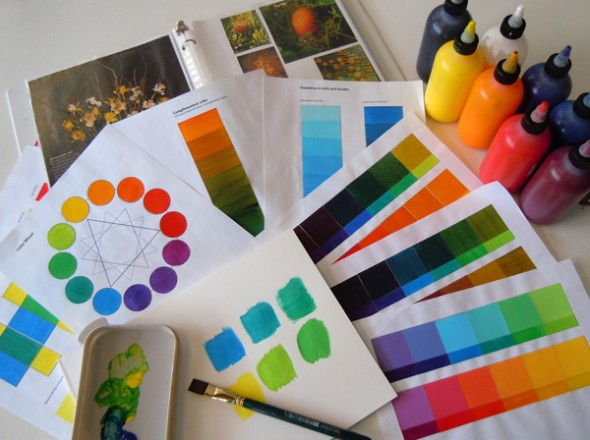colortheory 590x440 Online Color Theory Class
