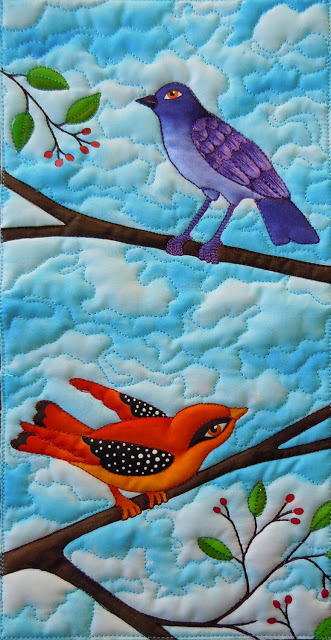 2birds A quilt of love and healing for Melly