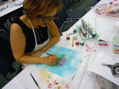 DSCN1656 Tsukineko Inks at International Quilt Festival, Long Beach