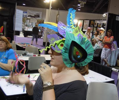 DSCN1730 Surviving the Runway Long Beach: The Fascinator
