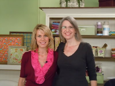 DSCN1822 Taping Quilting Arts TV season 900