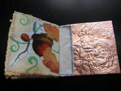 Flora8 Flora: Copper & Canvas Book