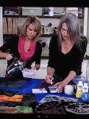 Judy2B1 Taping Quilting Arts TV season 900