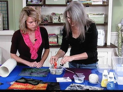 Judy3B Taping Quilting Arts TV season 900