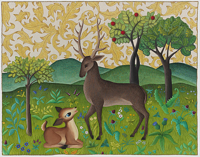 Oh+Deer5.5x7 Its that time again!
