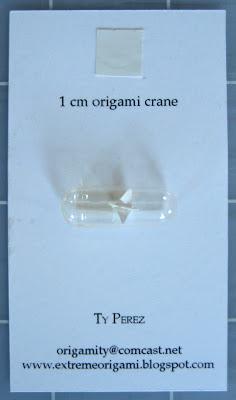 Ty+card Tiny origami