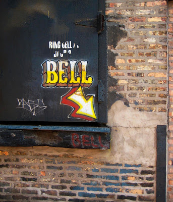 bell Quiet morning walk in the neighborhood