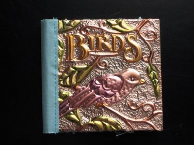 birdbookfinish1 Birds & Bees copper book
