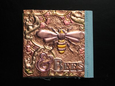 birdbookfinish11 Birds & Bees copper book
