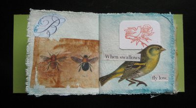 birdbookfinish3 Birds & Bees copper book