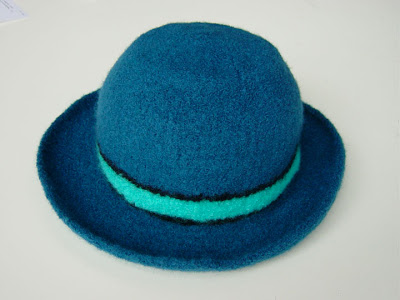 bluefelt+hat New felt hat