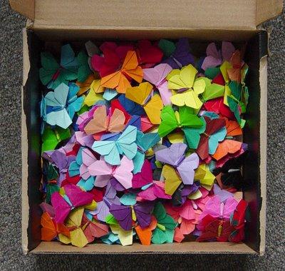 butterflies 200 Origami Butterflies