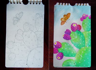 cactus Paper and Paint