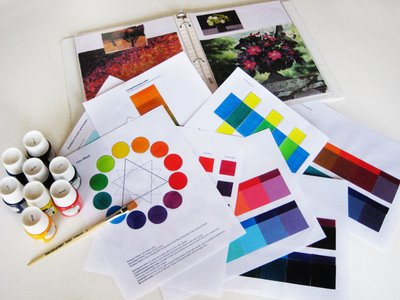 color+class2 Sign up now for the next online Color Theory class