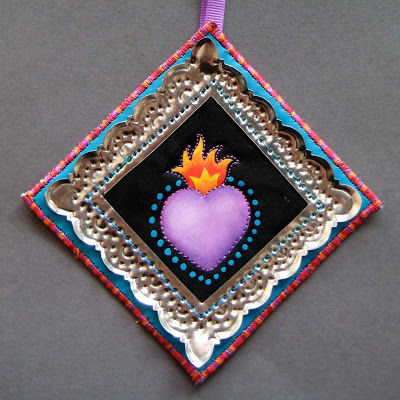 corazon Finished Fiesta Ornaments
