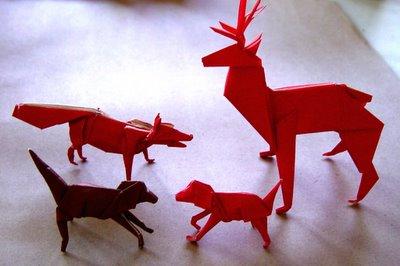 deer1 Tys Origami