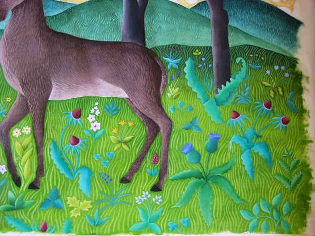 deer23 Painting  done I think