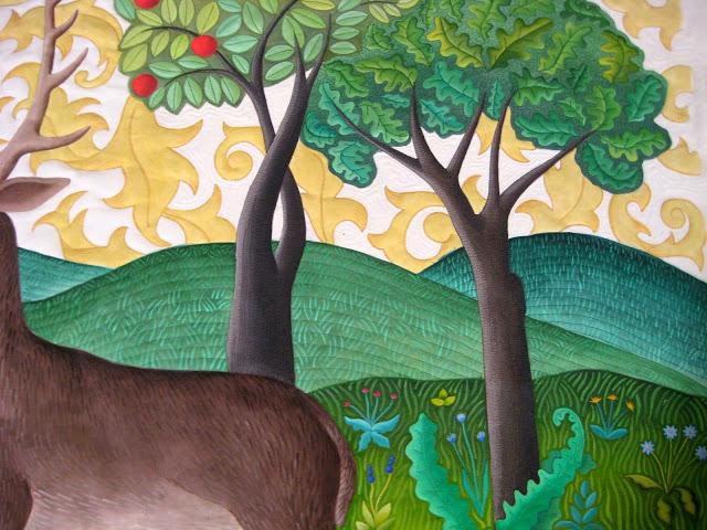 deer35 Quilted hills