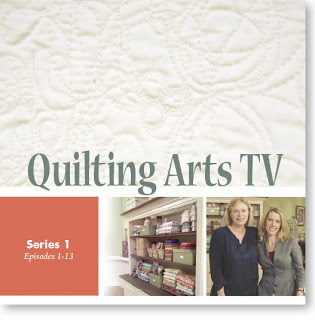 dvdcover Quilting Arts TV on DVD!