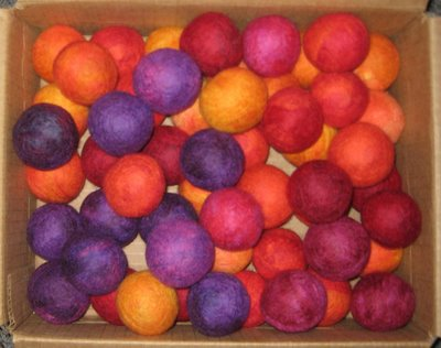 felted+balls Making Felted Balls