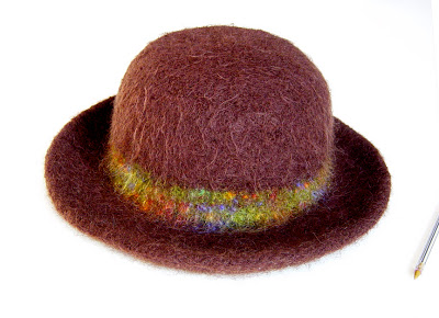felted+hat+w Felted Hat