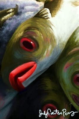 fish4 Finger painting on my iphone