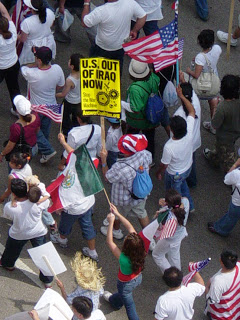 iraq Immigration March