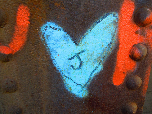 jheart Texture and color in the city