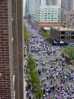 march+east Immigration March