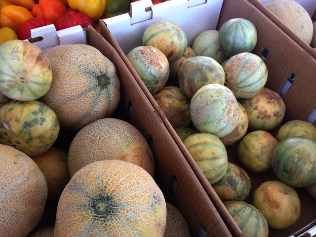 melons Northern California Farmers Market Love