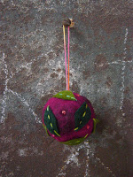 ornament+1 Felted ball ornaments