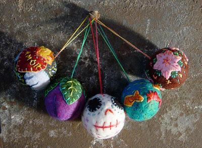 Lots of Uses! Oddballs Sets of Felted Wool Balls