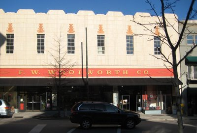 woolworth Asheville, North Carolina