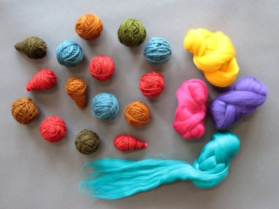 yarn+balls Felted Wool Ornaments