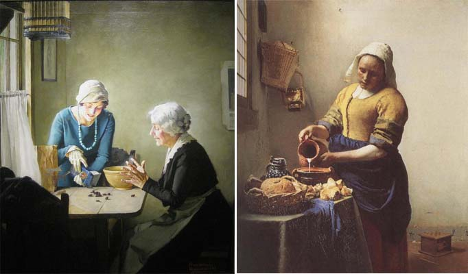 rockwell.vermeer An Artist Date at the Museum