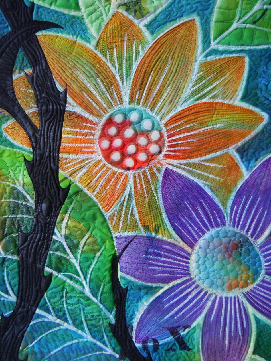qflower detail