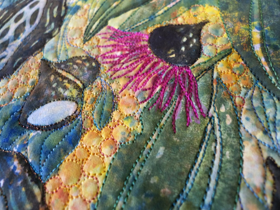 gum flower detail