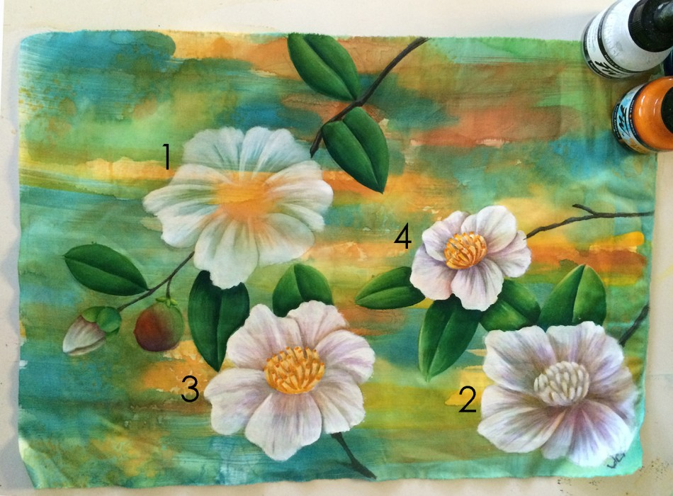 camelias1 950x700 Spend a week immersed in the ultimate creative exploration using Acrylic Inks with me!