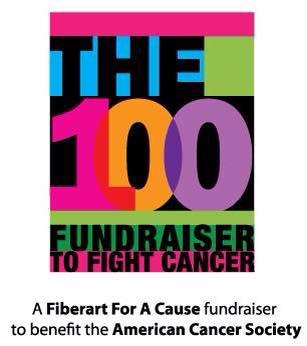 100 fiberart for a cause